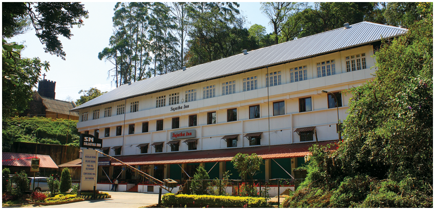 Sn sujatha inn munnar for special munnar hotel package for Central reservation hotel